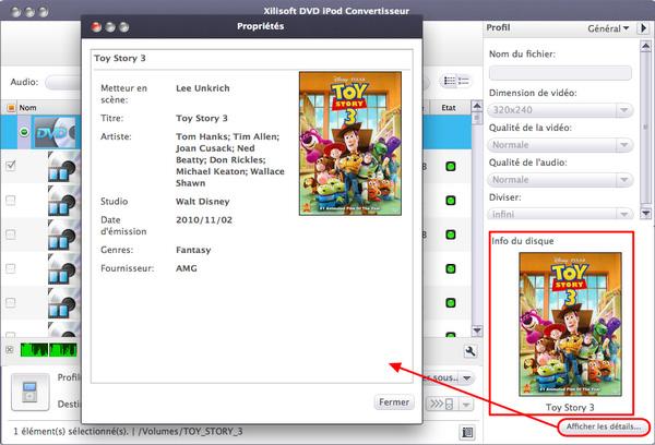 Xilisoft DVD iPod Convertisseur pour Mac
