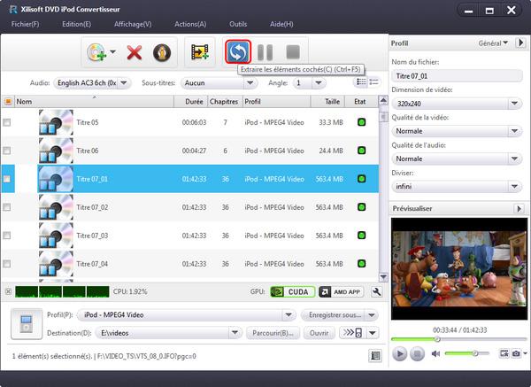 Xilisoft DVD iPod Convertisseur