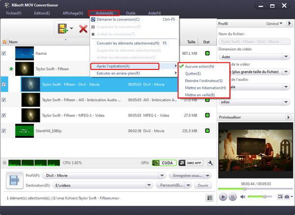Xilisoft MOV Convertisseur