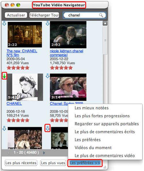 Xilisoft YouTube iPod Convertisseur pour Mac